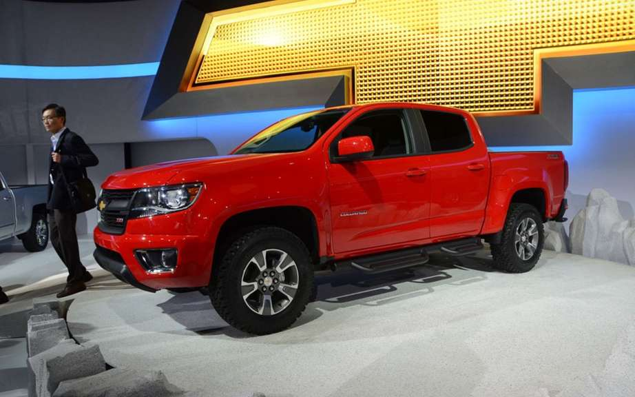 Chevrolet Colorado and GMC Canyon back in 2014