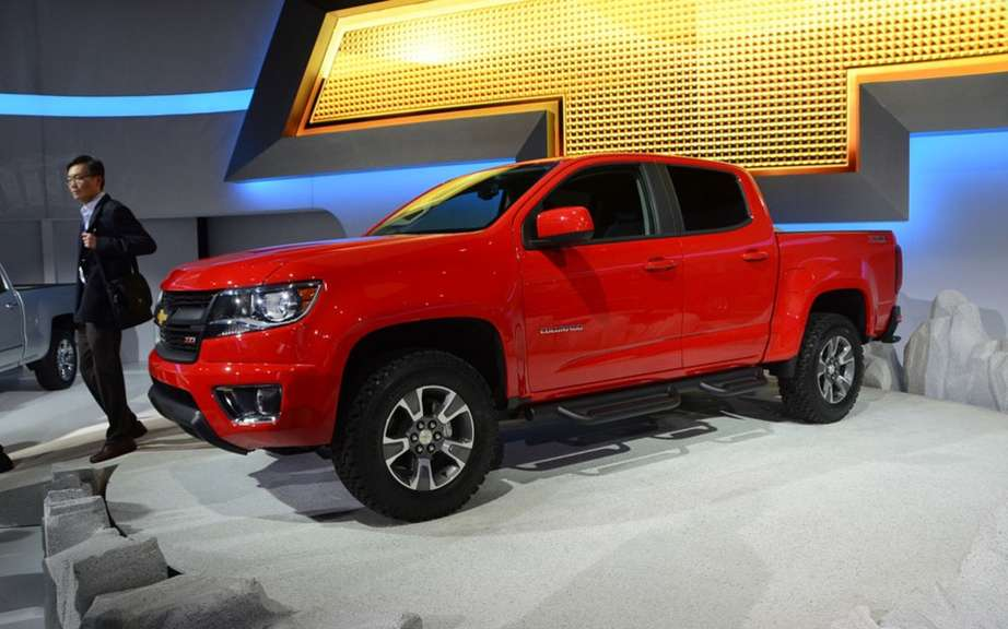 Chevrolet Colorado and GMC Canyon back in 2014 picture #2