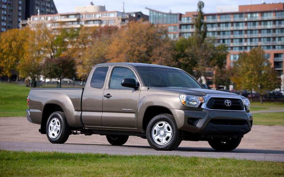 Toyota Canada recalls its Tacoma truck picture #1