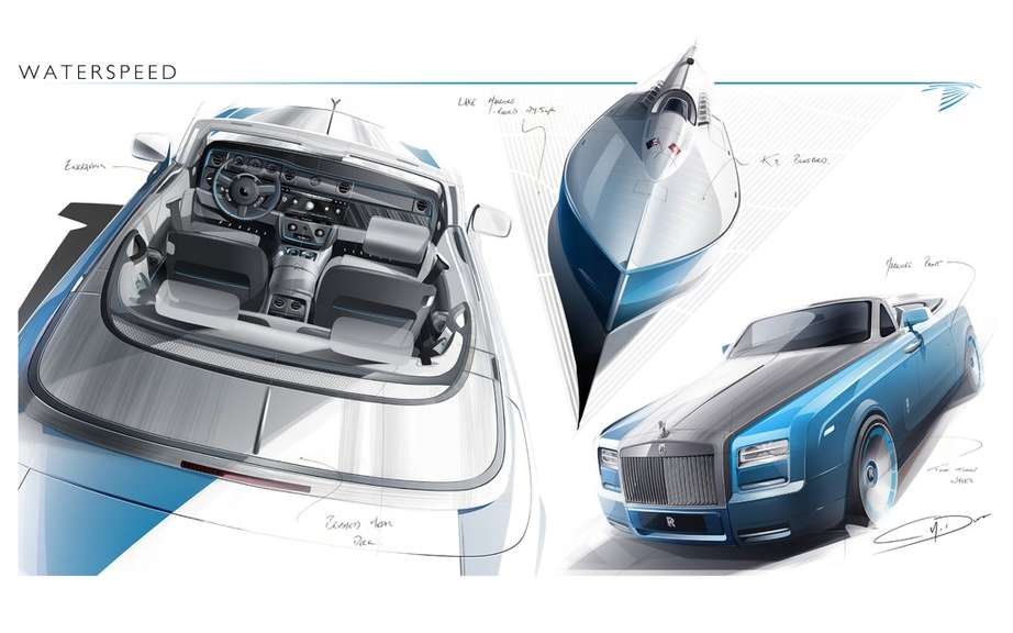Rolls-Royce Phantom Drophead Coupe and Waterspeed Collection picture #4