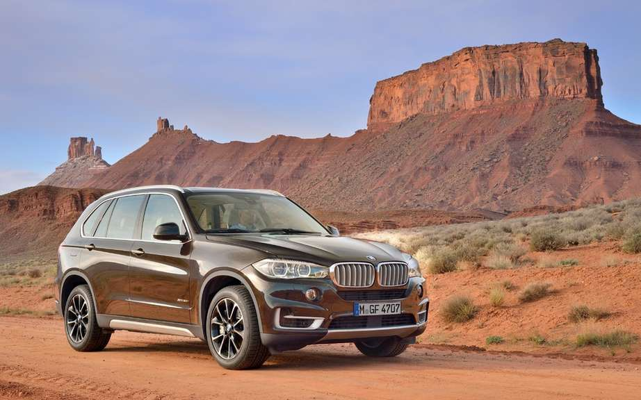 BMW X5 2014 start of production Spartanburg picture #3