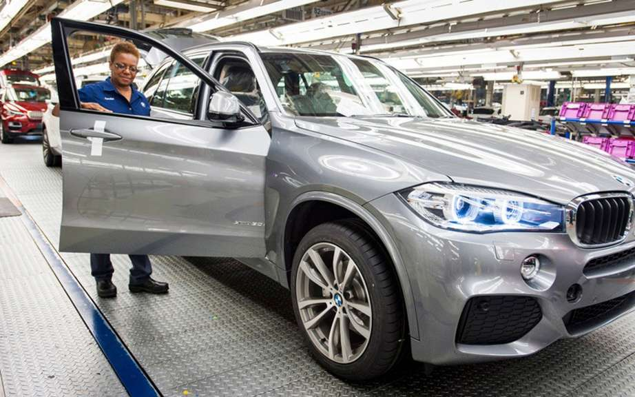 BMW X5 2014 start of production Spartanburg picture #4