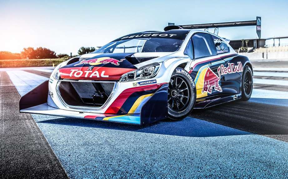 Peugeot 208 T16: a champion at the Goodwood Festival of Speed picture #3