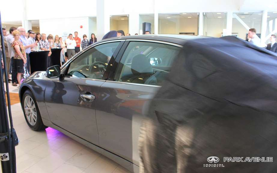 Launch of the new Infiniti Q50 at Park Avenue picture #6