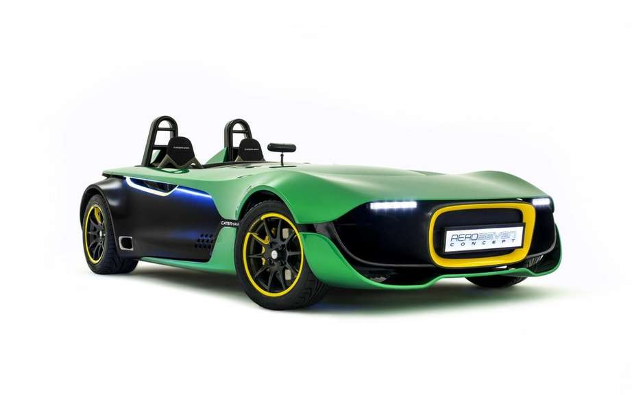 Caterham has submitted its roadster 620R Goodwood