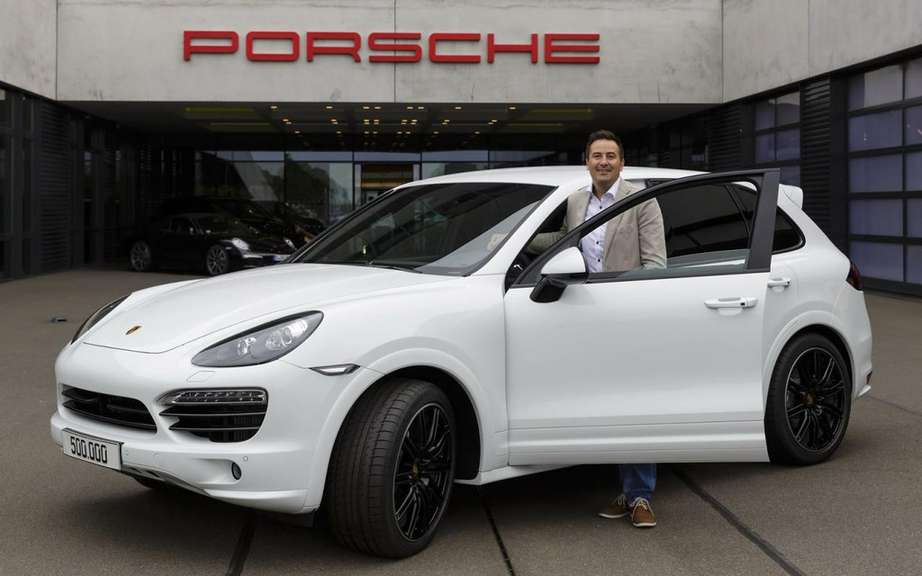 Porsche Cayenne: 500,000 copies later picture #3
