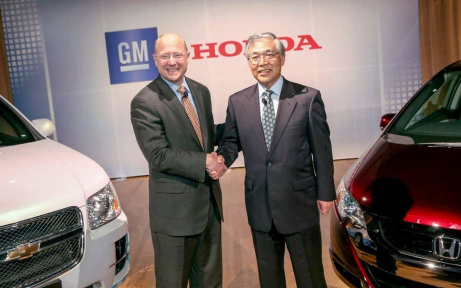 GM and Honda join forces to develop a fuel cell system has