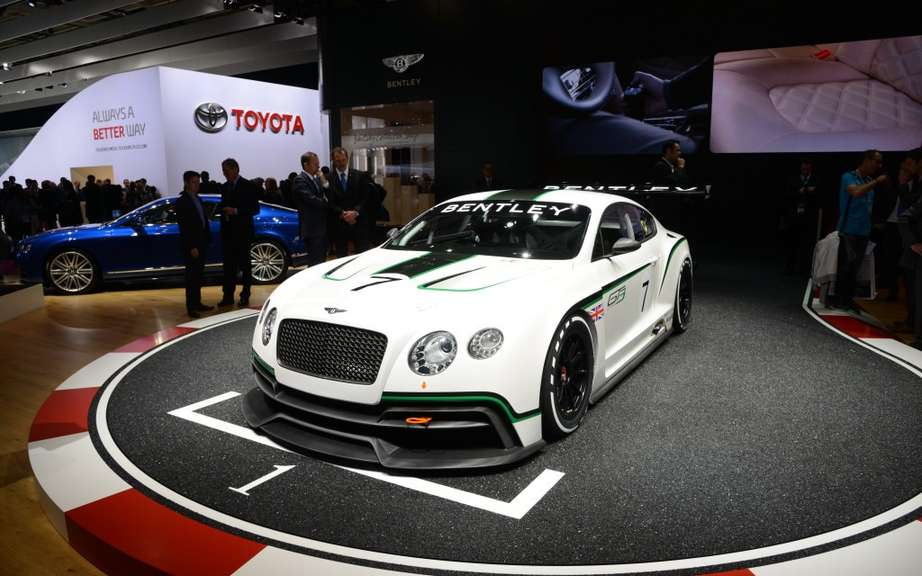 Bentley Continental GT3 at the Goodwood Festival of Speed picture #5