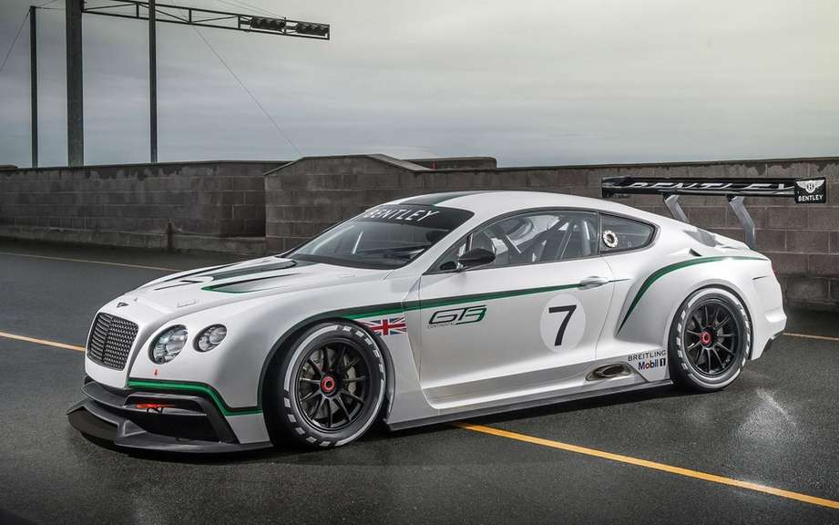 Bentley Continental GT3 at the Goodwood Festival of Speed picture #8