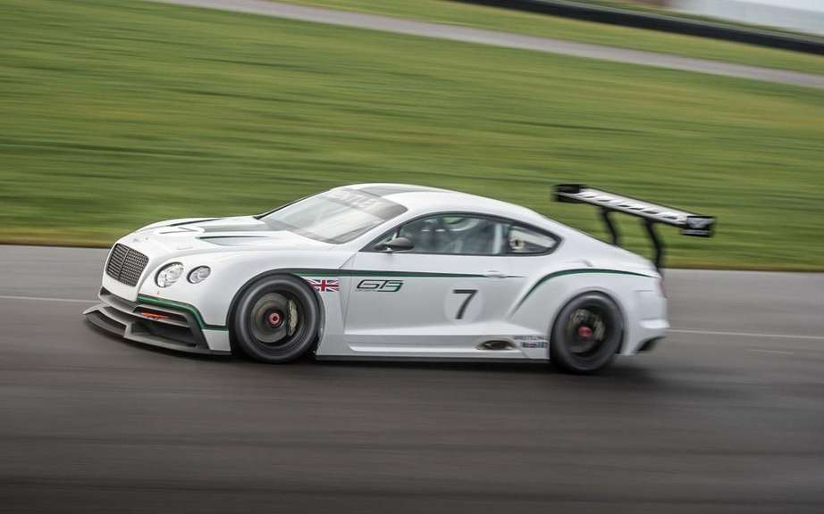Bentley Continental GT3 at the Goodwood Festival of Speed picture #9