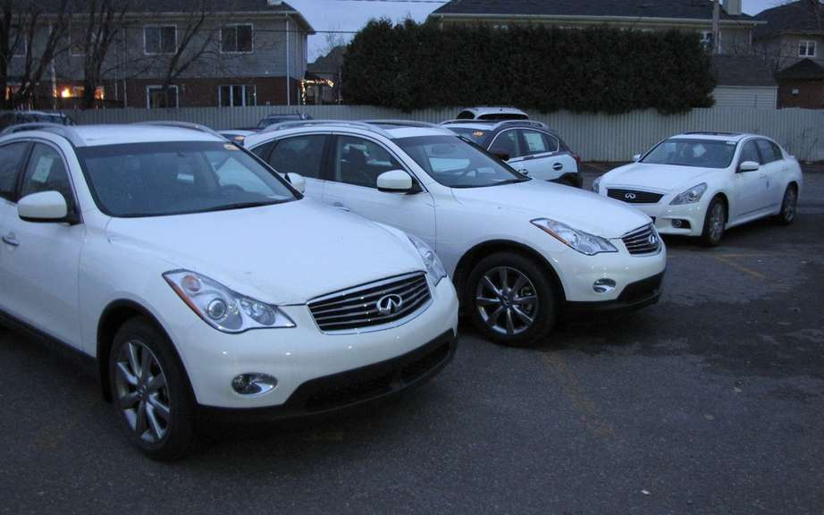 Infiniti announces its sales figures in Canada picture #2