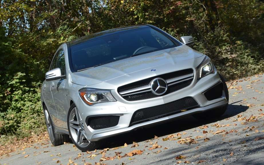 Mercedes-Benz CLA 45 AMG Edition1: the more aggressive