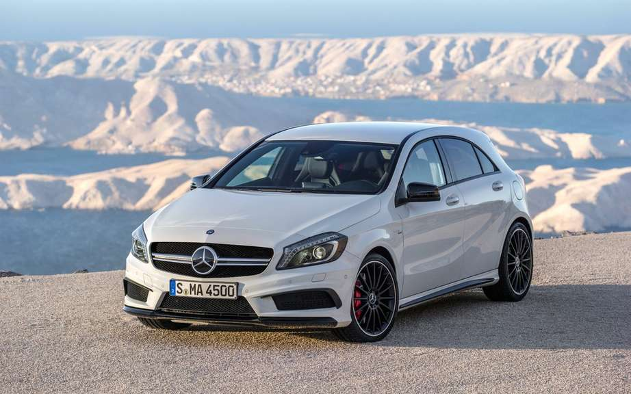 Mercedes-Benz CLA 45 AMG Edition1: the more aggressive picture #2