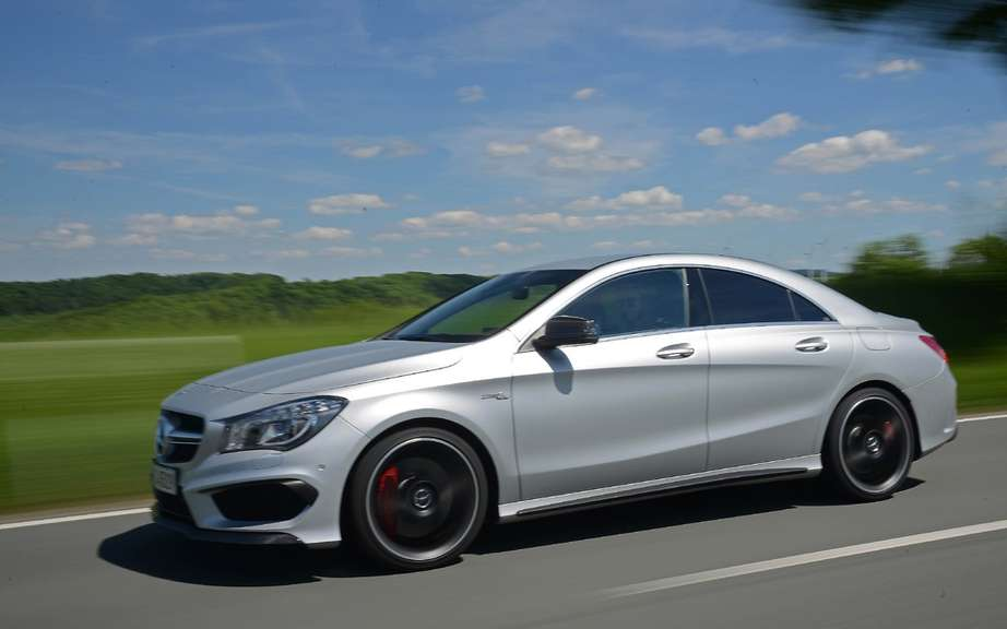 Mercedes-Benz CLA 45 AMG Edition1: the more aggressive picture #3