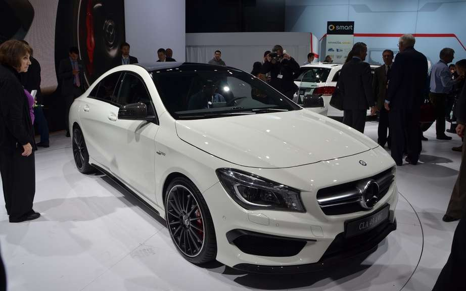 Mercedes-Benz CLA 45 AMG Edition1: the more aggressive picture #4