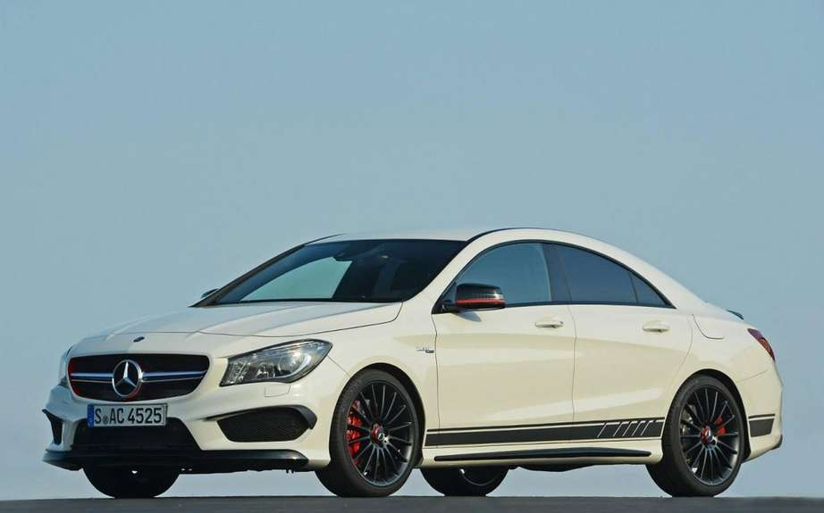 Mercedes-Benz CLA 45 AMG Edition1: the more aggressive picture #5