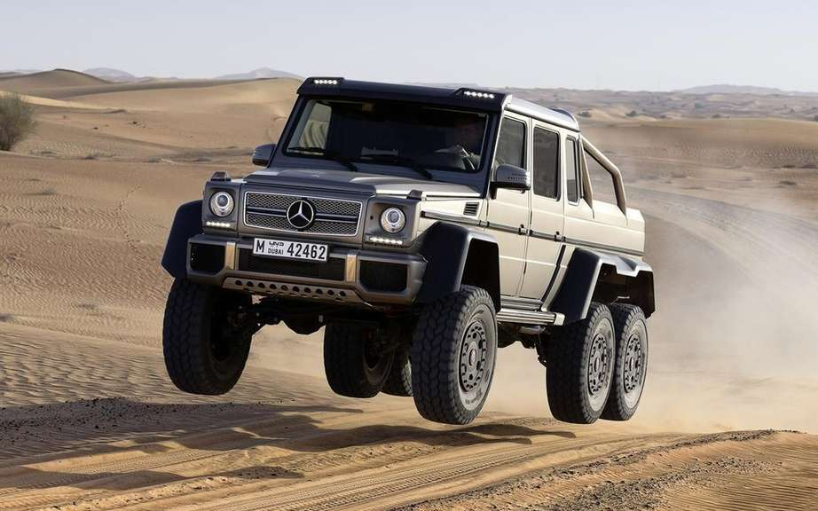 Mercedes-Benz G63 AMG 6x6 book has an American customer
