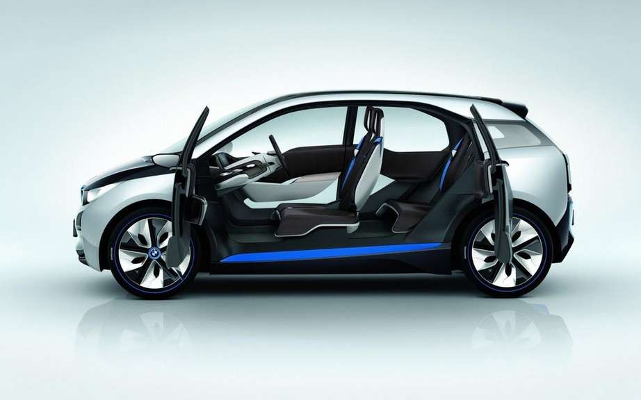 BMW i3 series UNVEILED July 29 picture #6