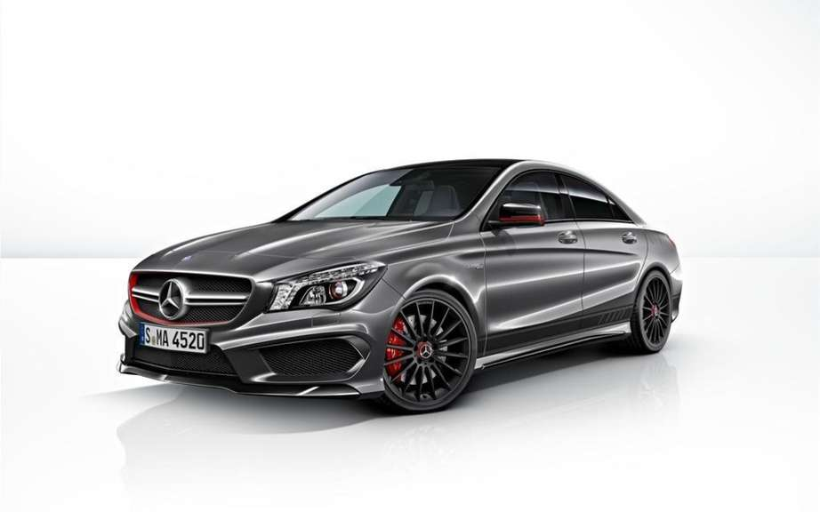 Mercedes-Benz CLA 45 AMG Edition1: the more aggressive picture #7