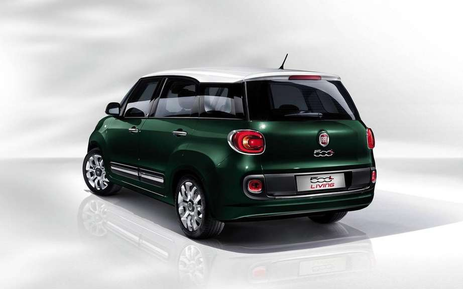 Fiat 500L Living a 5 +2 configuration picture #6