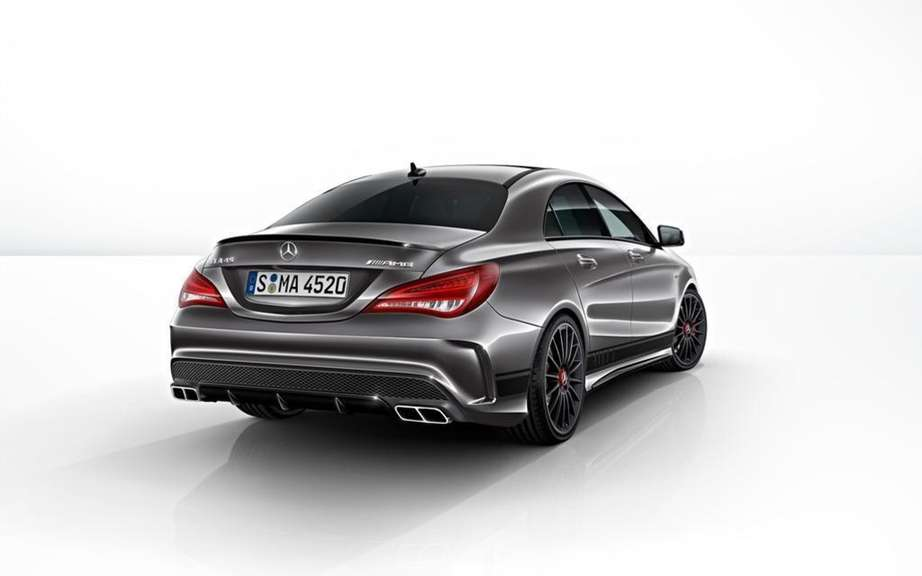 Mercedes-Benz CLA 45 AMG Edition1: the more aggressive picture #8