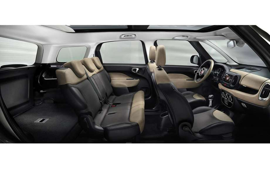 Fiat 500L Living a 5 +2 configuration picture #7