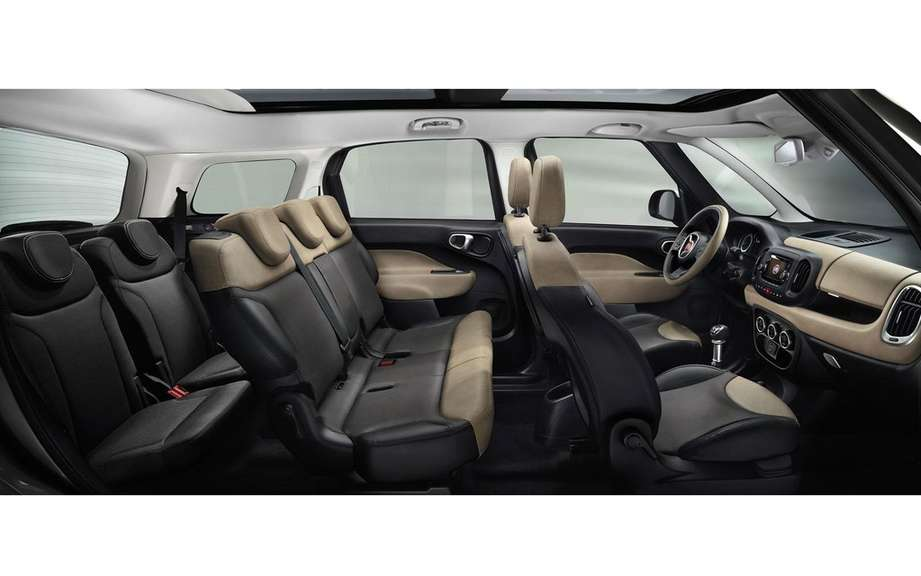 Fiat 500L Living a 5 +2 configuration picture #8