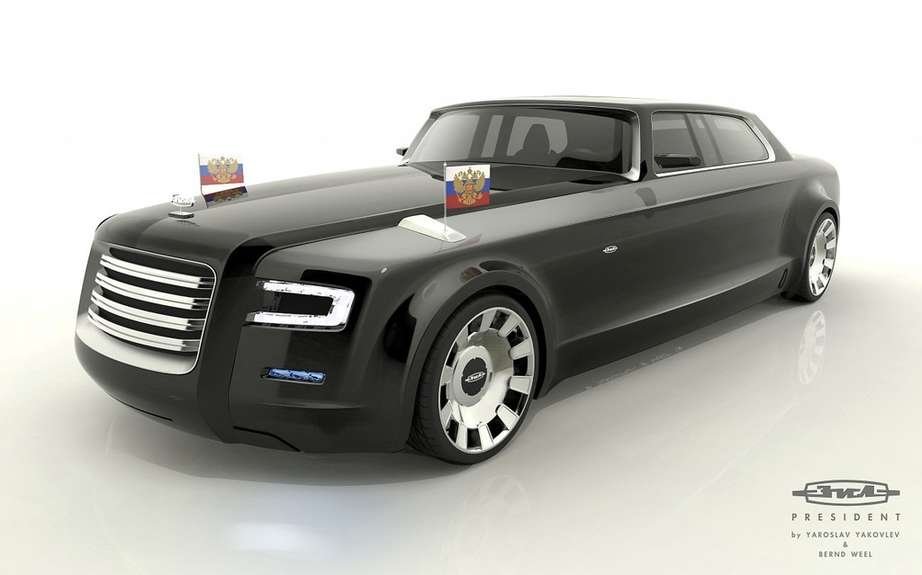 Vladimir Putin is looking for a limousine produced in Russia picture #3