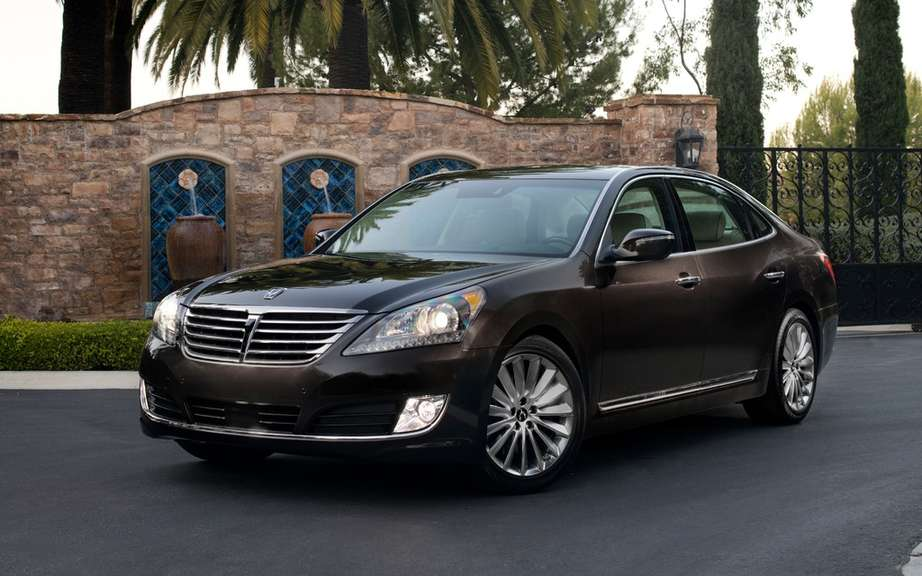 Hyundai Canada unveils pricing for its Equus sedan 2014