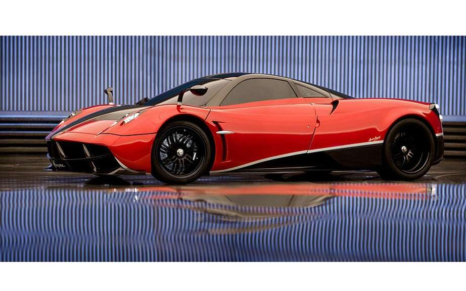 Pagani Huayra to the dimensions of the Autobots in Transformers 4 picture #3