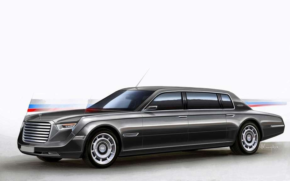 Vladimir Putin is looking for a limousine produced in Russia picture #7