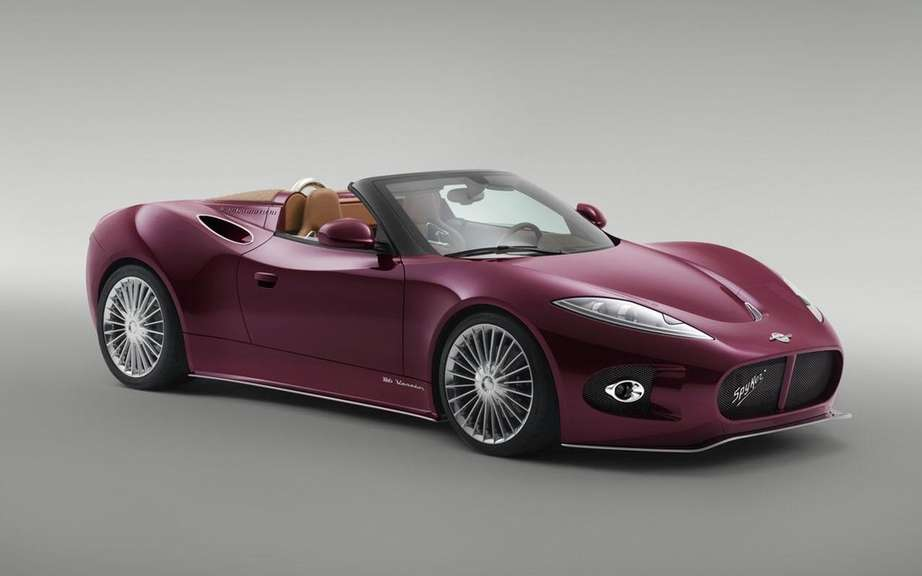 Spyker B6 Venator Concept: the cutting roadster