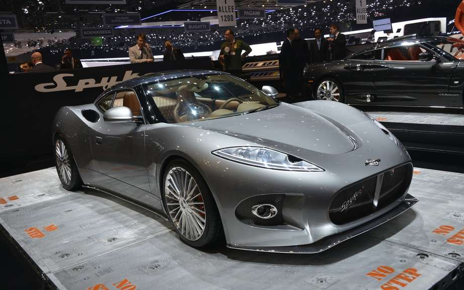 Spyker B6 Venator Concept: the cutting roadster picture #3