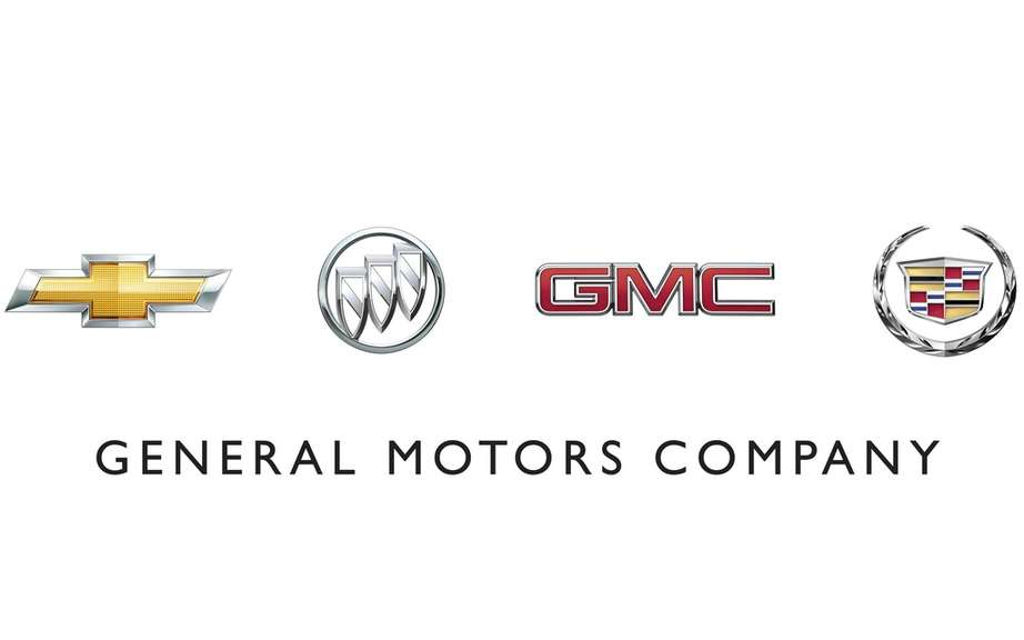 July sales of GM Canada