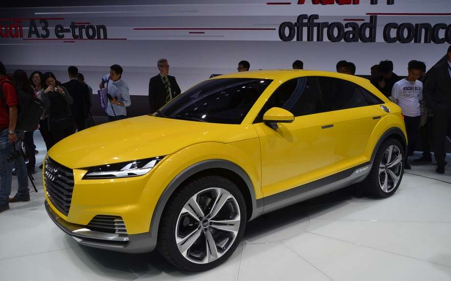 Launches: Offroad Concept Audi TT and Audi A3 Sportback e-tron