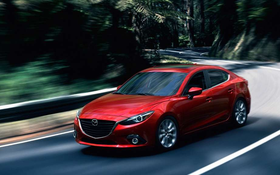 Mazda3 2014 finally revealed! picture #4