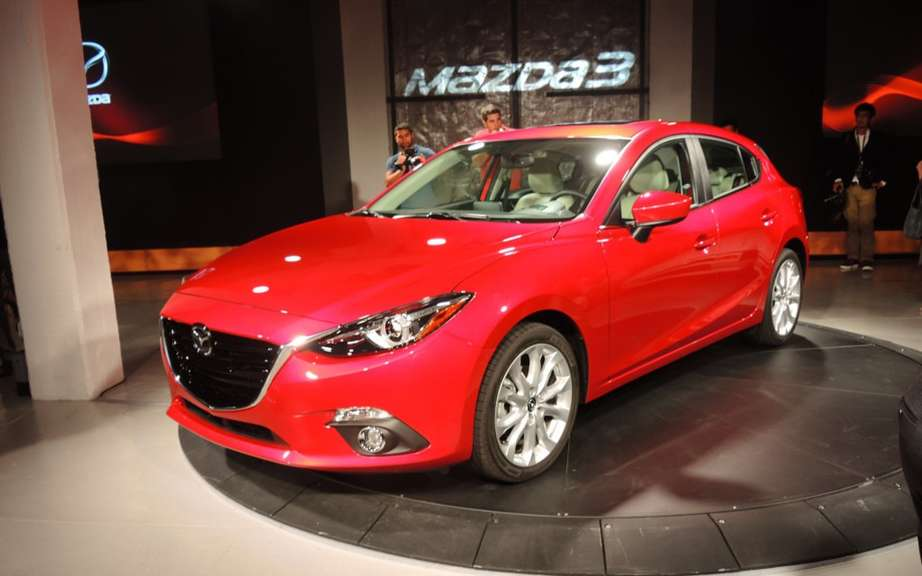 Mazda3 2014 finally revealed! picture #6