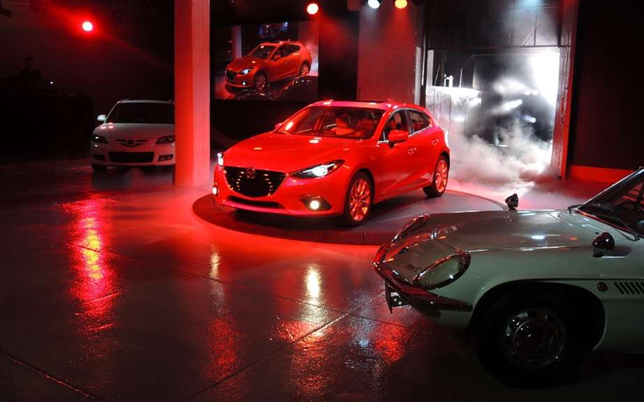 Mazda3 2014 finally revealed! picture #7
