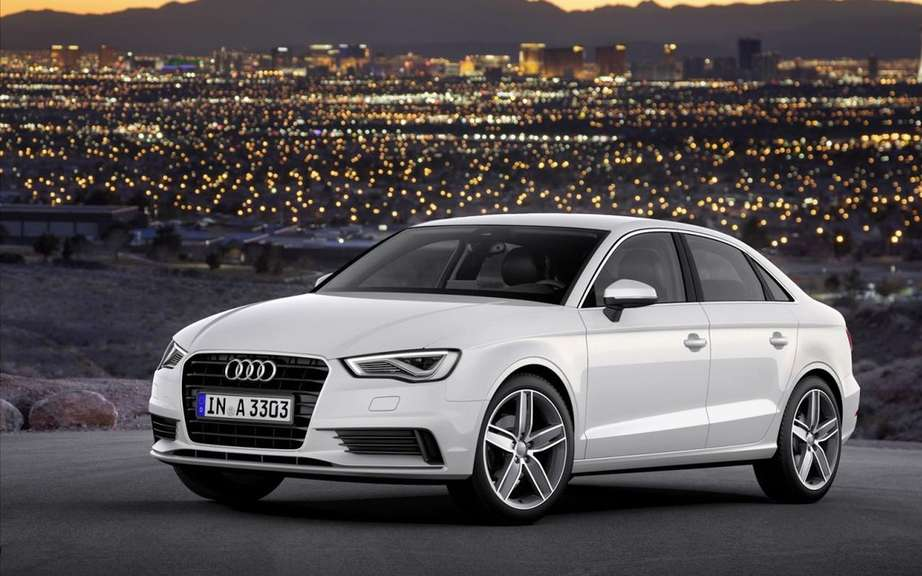 Audi A3 Sedan: start of production