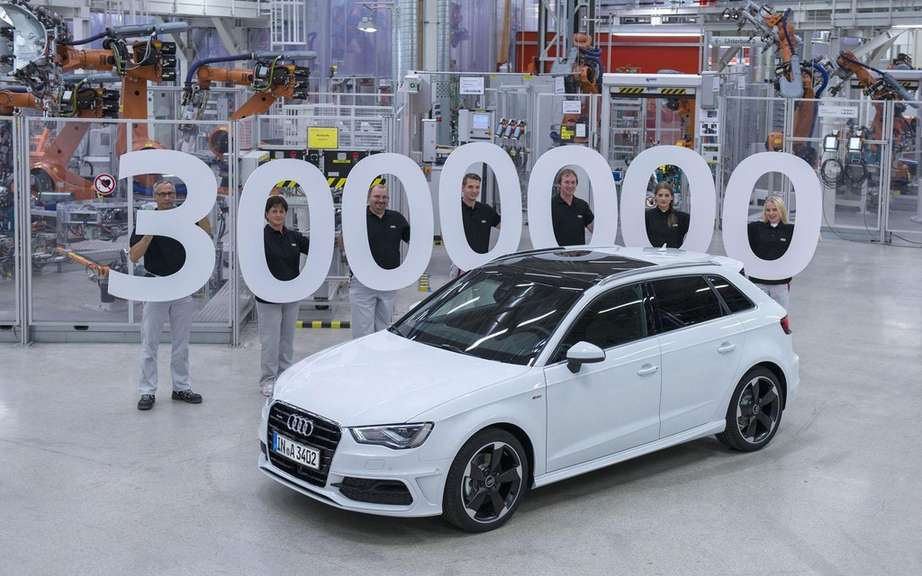 Audi A3 Sedan: start of production picture #2