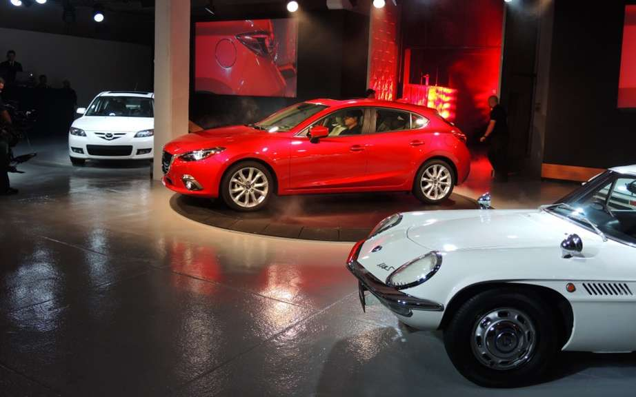Mazda3 2014 finally revealed! picture #8
