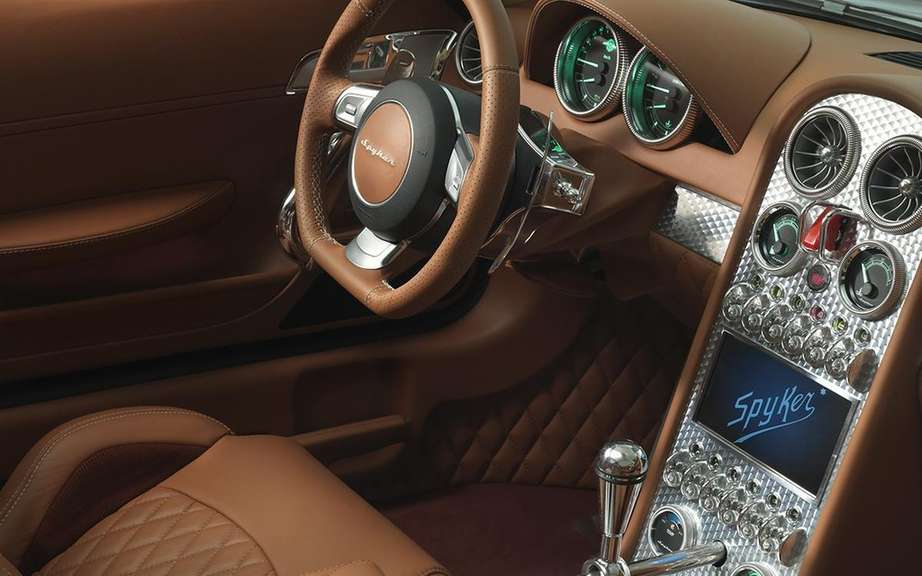 Spyker B6 Venator Concept: the cutting roadster picture #8