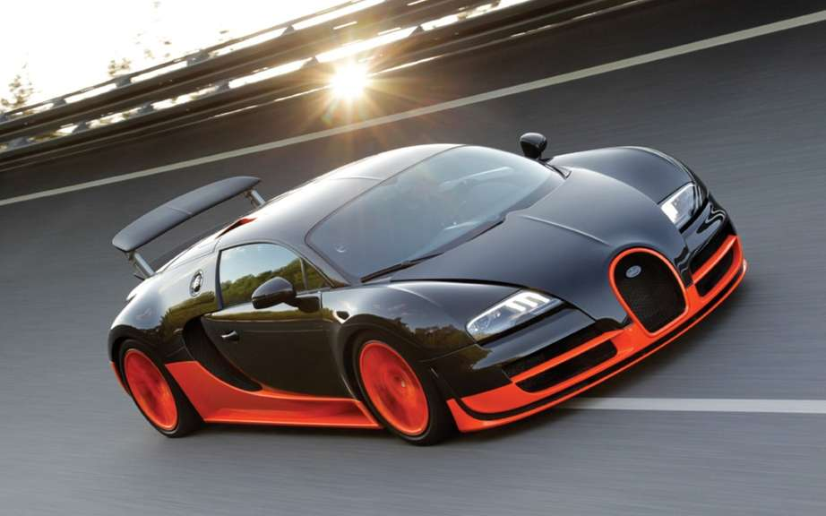 Bugatti Veyron 1500 hp conceived in Quebec