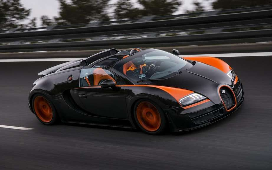Bugatti Veyron 1500 hp conceived in Quebec picture #2