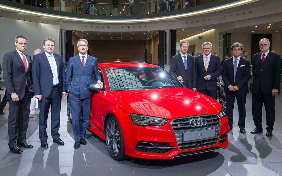 Audi A3 Sedan: start of production picture #6
