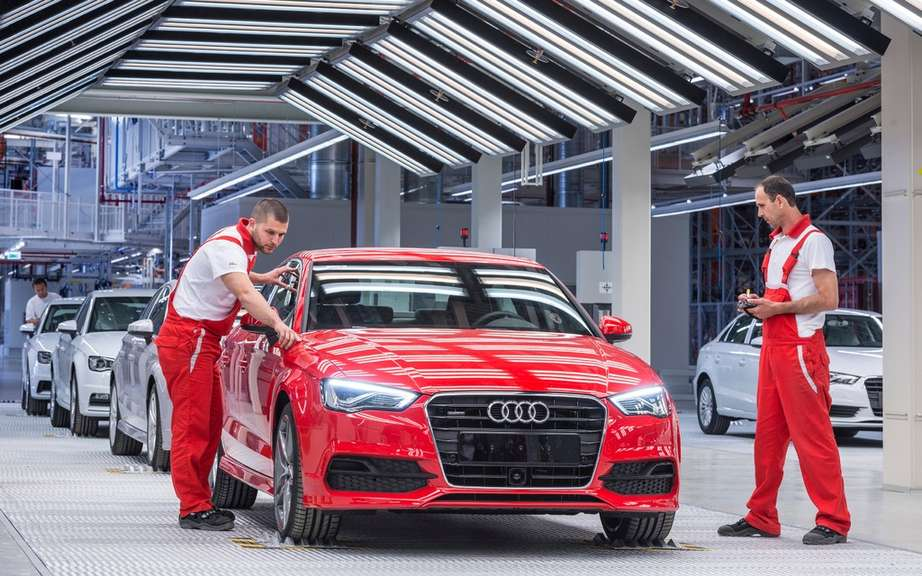 Audi A3 Sedan: start of production picture #7