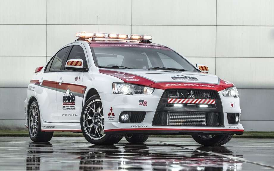 Mitsubishi vehicles and safety at Pikes Peak picture #6