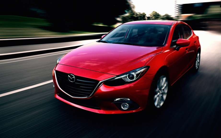 Mazda3 2014 finally revealed! picture #10