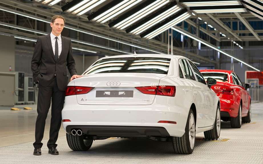 Audi A3 Sedan: start of production picture #8