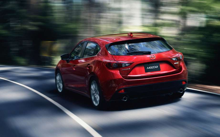 Mazda3 2014 finally revealed! picture #11